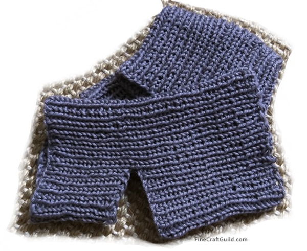 Yoga Socks Easy Knitting Pattern