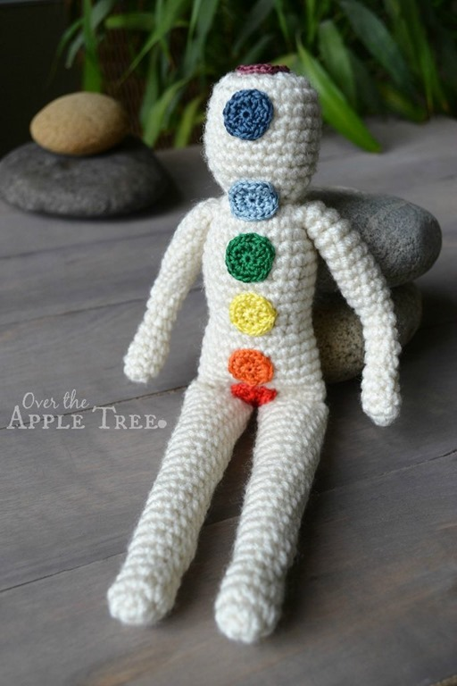 Original Crochet Ideas featured at FineCraftGuild.com - Reiki doll