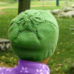 Little flower hat free knitting p0ttern by Ewelina Murach, featured at FineCraftGuild.com