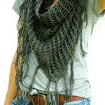 Sweet November Triangle Lace Shawl – Free Knitting Pattern
