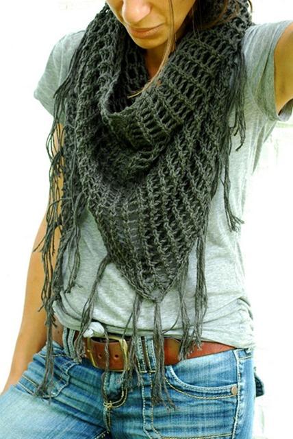 Sweet November Triangle Lace Shawl Free Knitting Pattern
