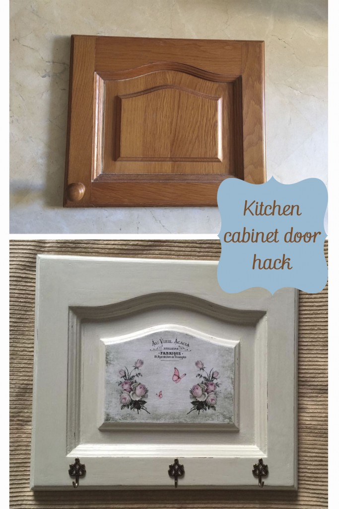 DIY French vintage kitchen cabinet makeover, by Pili from My Sweet Things, featured at FineCraftGuild.com