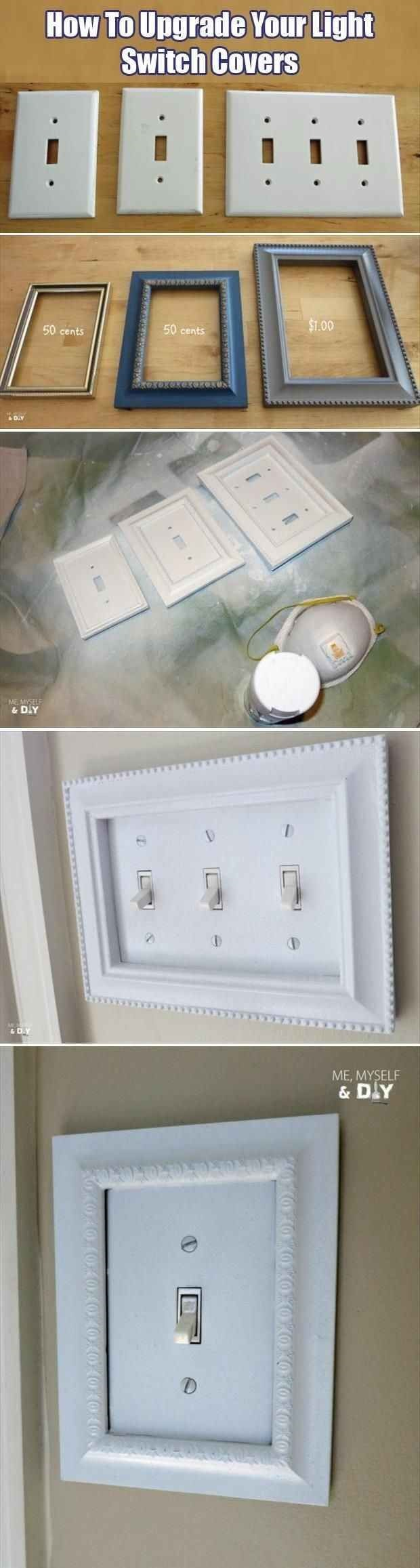 Easy Light Switch Upgrade