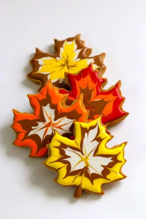 Fall treats: cookie leaves recipe
