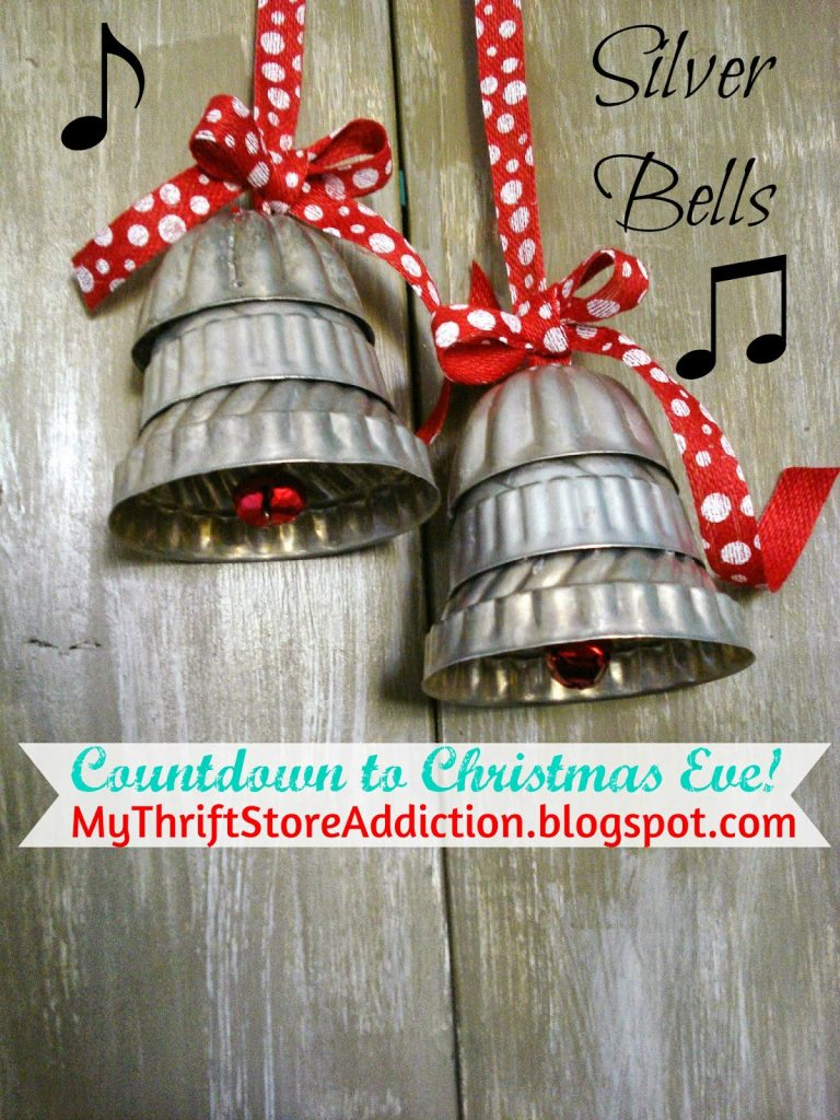 free thrifty christmas ebook vintage bells decorating