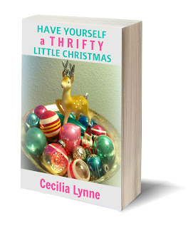 free thrifty christmas ebook cecilia vintage ideas