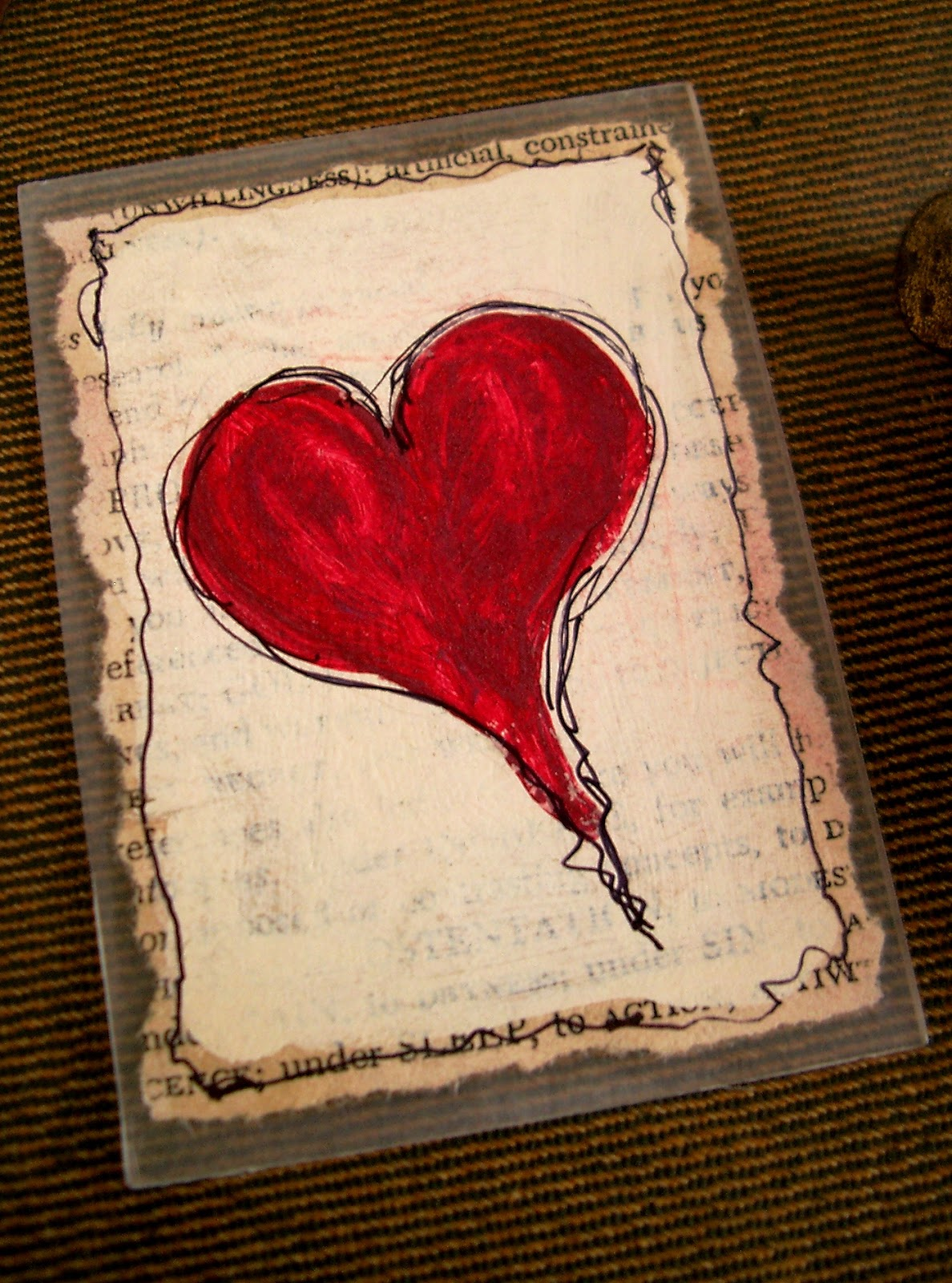 Card by Linda Nelson - copyrighted