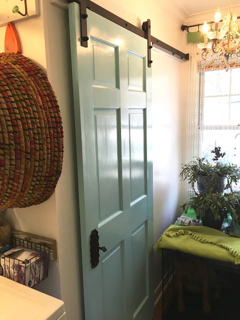 Featured DIY Sliding Barn Doors by Lyn Moon - featured at FineCraftGuild.com