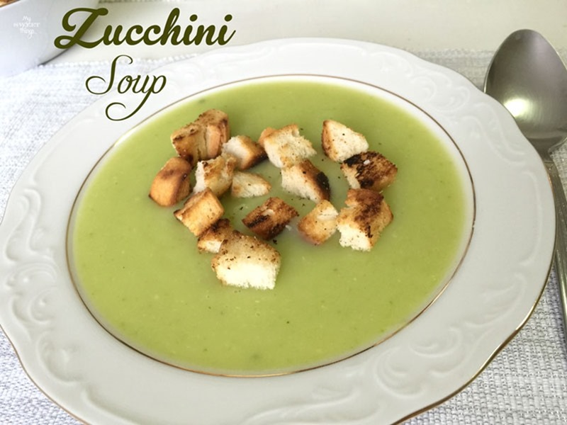 healthy hot zucchini soup recipe