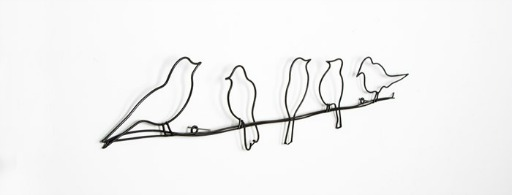 birds metal wall art - gb - teen girls bedroom ideas