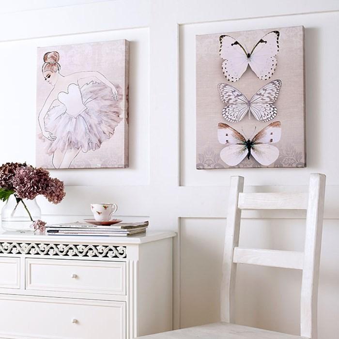 Ideal classic ballerina wall art gb Inspirational Wall art
