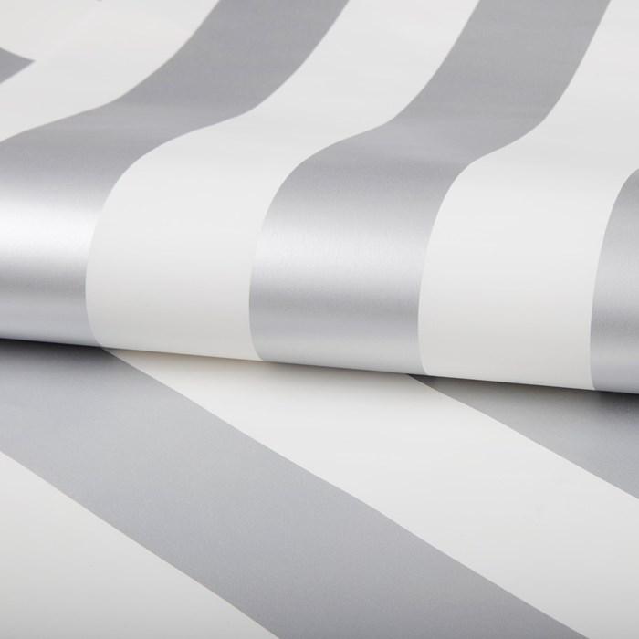 silver stripe wallpaper gb - teen girls bedroom ideas at FineCraftGuild.com