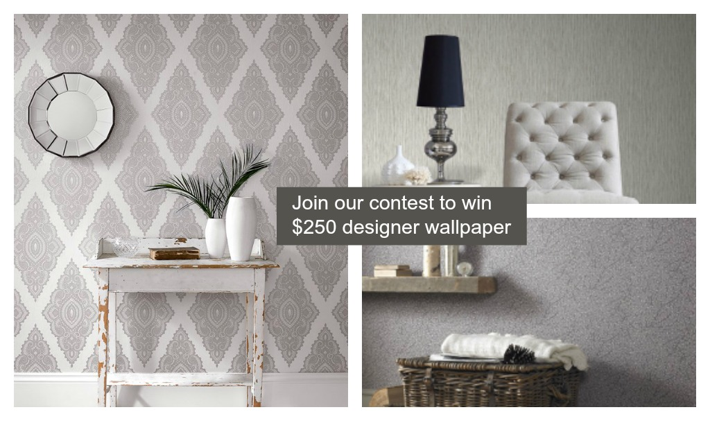 Beautiful Wallpaper Contest by Graham & Brown with FineCraftGuild.com