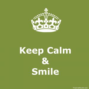 keep calm gallery  - keep calm and smile