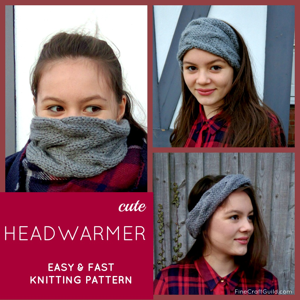 easy ear warmer knitting pattern
