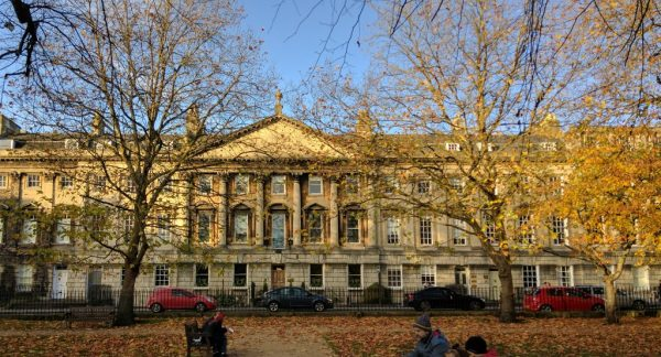 Queen Square, Bath, UK - where I found my missing secrets on How to Make Felt Stone Rugs - FineCraftGuild.com