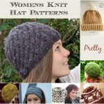Knit hat patterns womens fall1