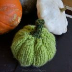 Easy, Flat Knitted Pumpkin Pattern – shapable, hollow 3D form