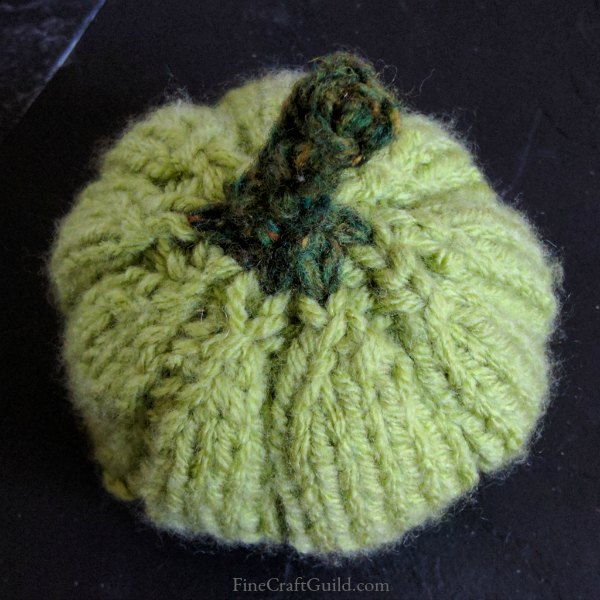 Knitted Pumpkin Pattern