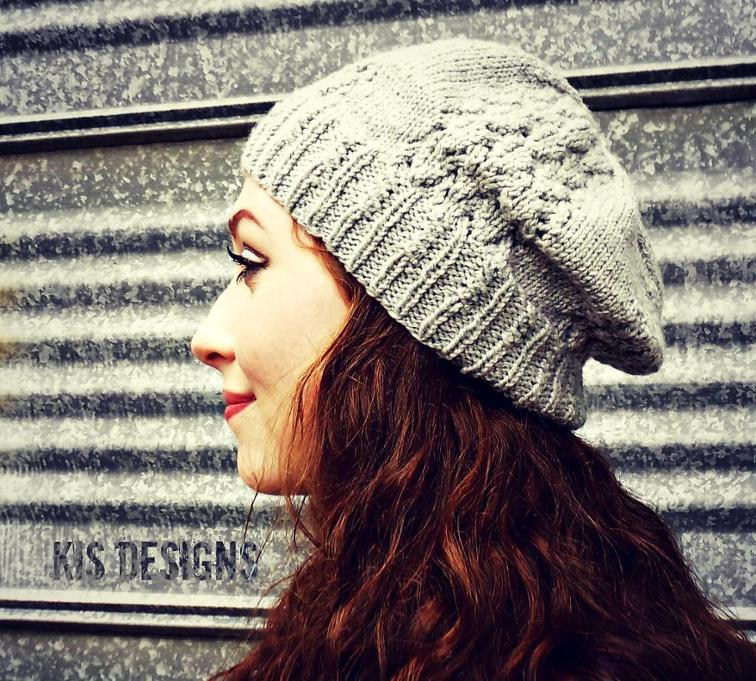 Thistledown cap knit hat patterns