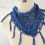 fast easy knitted scarf pattern