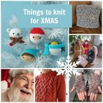 things to knit for christmas