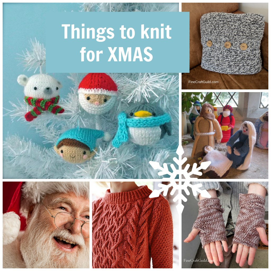 things to knit for xmas