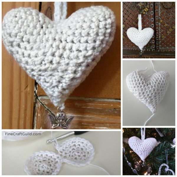 Heart Ornament Crochet Pattern