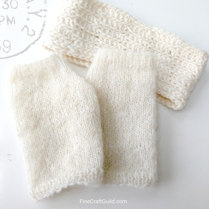Easy Fingerless Gloves Knitting Pattern for My Magical Mitts