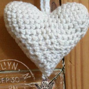 heart ornament crochet pattern