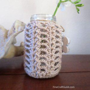 mason jar crochet pattern