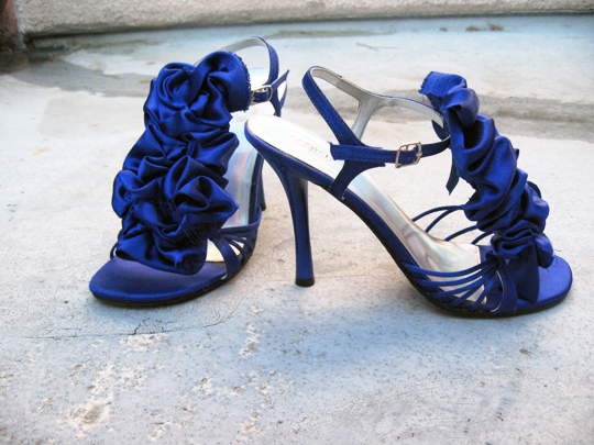 DIY ruffle sandals (Meagan)