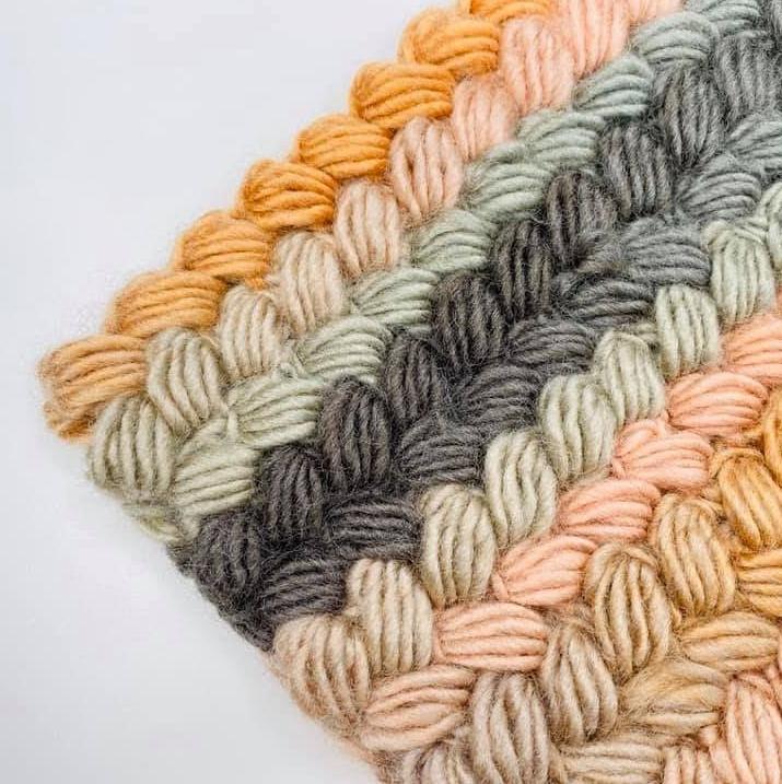 Crochet Braid Puff Stitch Tutorial