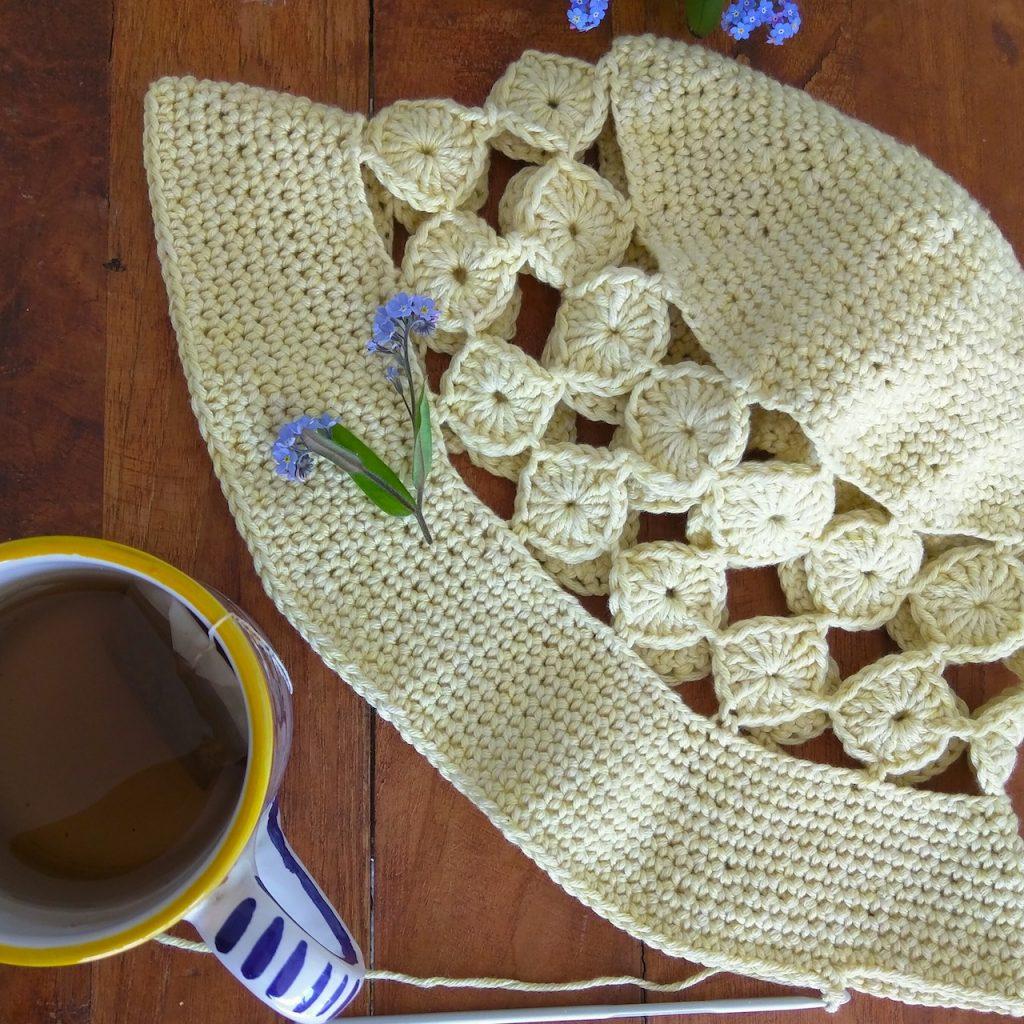 Summer Crochet Hat Design