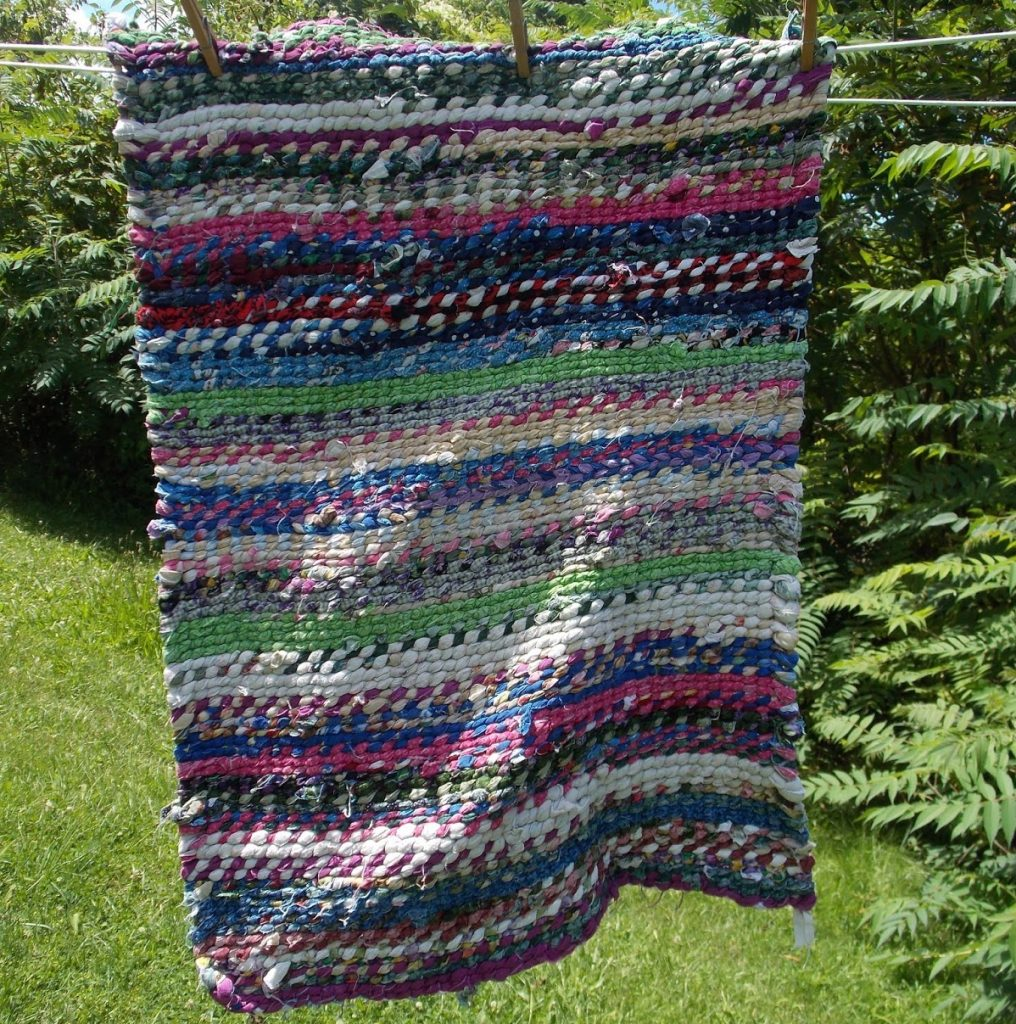 How To Weave A Rag Rug