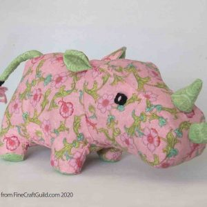 Rhinoceros Stuffed Animal Sewing Pattern