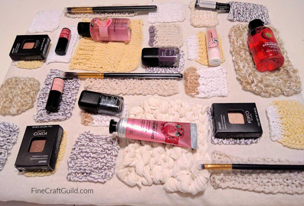 Teenager Makeup DIY Santa Advent Calendar Knitting Project