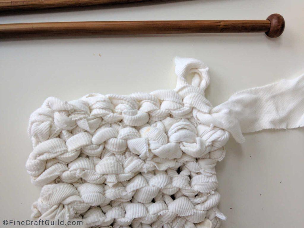 Santa Advent Calendar Knitting Project