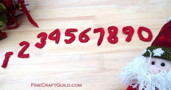 small numbers crochet patterns