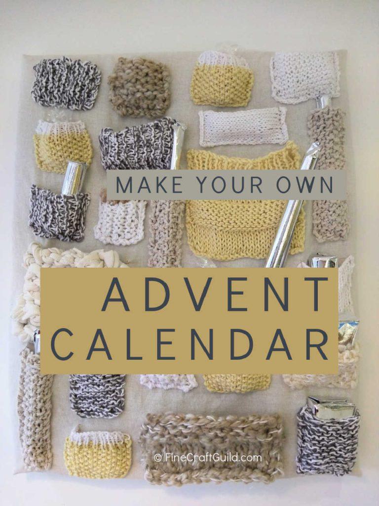 DIY Santa Advent Calendar Knitting Project