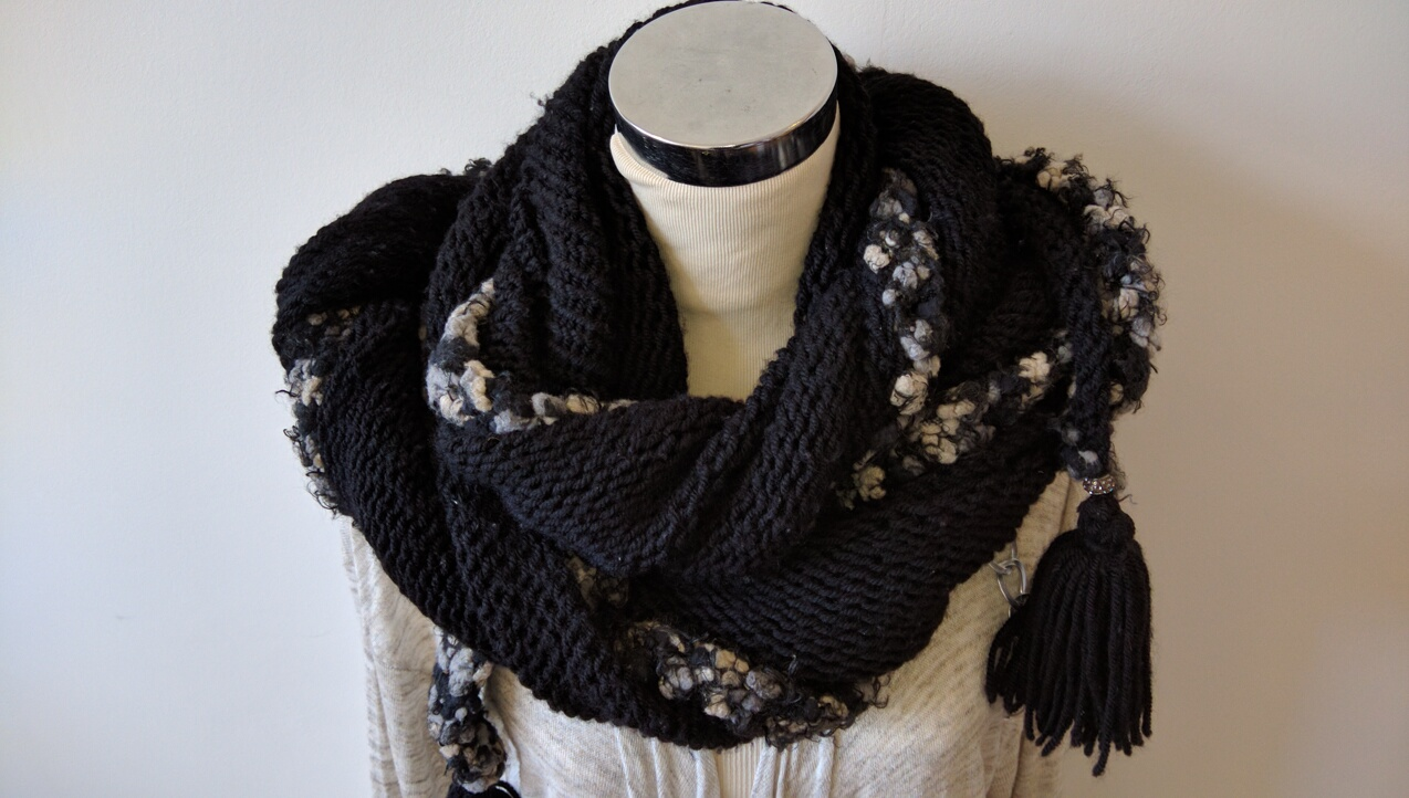 How to Wear a Triangle Shawl: 7 Ways to Wrap Your Knitwear
